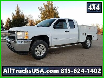 "2012 GMC 2500HD 4X4 EXTENDED CAB, 6.0L GAS, 6' 6"" SERVICE UTILITY TRUCK, 125k"