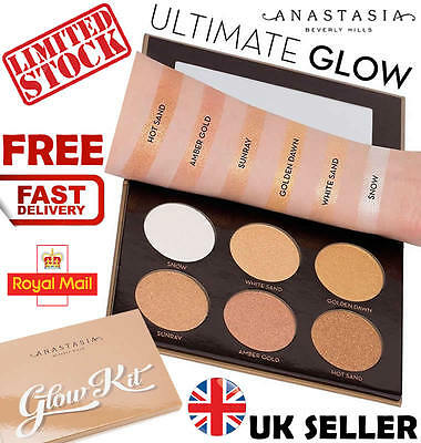 NEW Anastasia Beverly Hills Ultimate Glow Kit Highlighter Pallette Xmas Present""