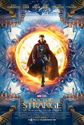 Marvel DR STRANGE Movie Theater Poster FINAL  27x40 DS NEW One Sheet