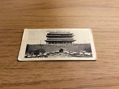 Cope Bros & Co Ltd Cigarette Cards Chinese Series