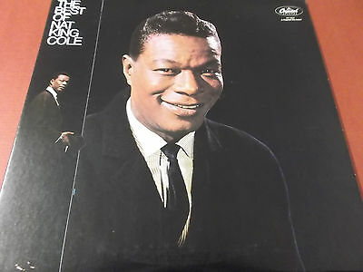 The Best Of Nat King Cole: Vinyl Lp Made In U.s.a.: Capitol Label: Sn-16036