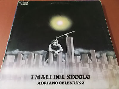 Adriano Celentano: Il Mali Del Secolo: Vinyl Lp Made In Italy: 1972: Clan