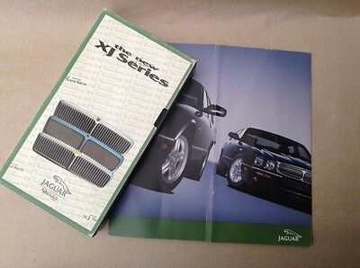 Jaguar XJ6/12 Launch Video And Brochure From 1994/95