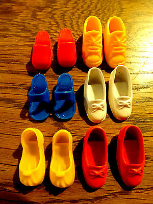 Vintage Sindy Doll - Selection Of Shoes