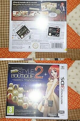 New Style Boutique 1 & 2 3Ds Nintendo