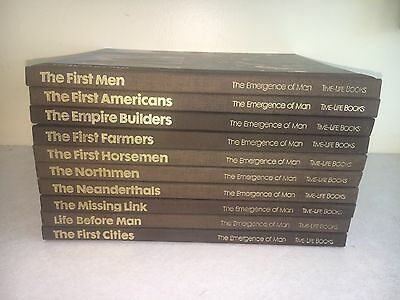 The Emergence of Man LOT of 10 Books Time-Life Series