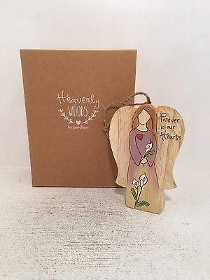 Heavenly Woods Forever in our Hearts Angel Figurine Ornament BRAND NEW BOXED