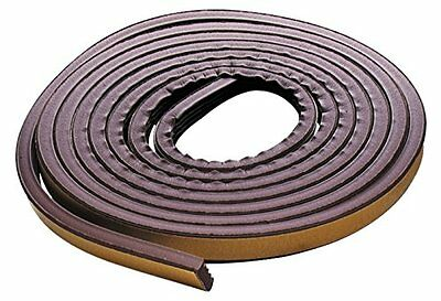 M-D Building Products 2550 All-Climate Edam Weatherstrip P Strip, 17 Feet, Brown