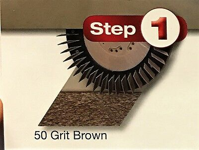 Diamabrush Polymer Tool, Multi-Directional 17 Inch 50 Grit 911701210 (Brown)