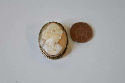 Victorian Cameo Lady Brooch