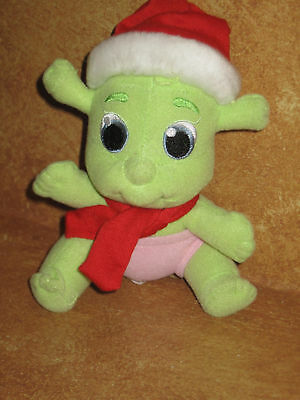 """Shrek Babies Stuffed Plush Baby Christmas Outfit 6"""" Holiday Suited Decoration"""