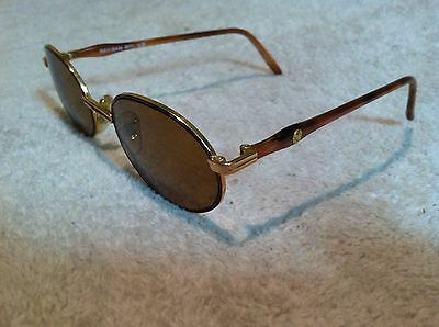 Vintage Ray Ban Rituals W2343 Gold Cappuccino Oval With Case