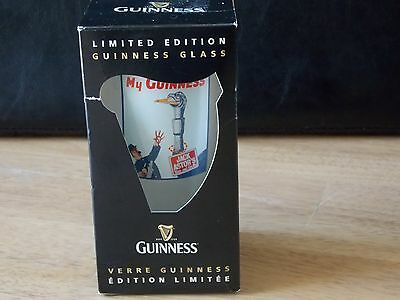 Limited Edition Guinness Beer Pint Glass