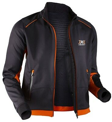 X-Bionic Cross Country MAN Spherewind Jacket Winter Black-Orange