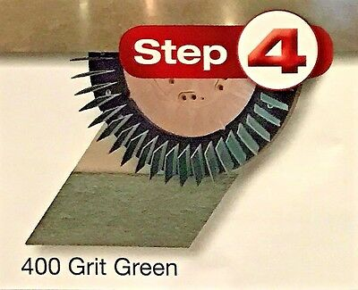 Diamabrush Polymer Tool, Multi-Directional 16 Inch 400 Grit 911601240 (Green)