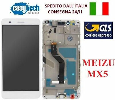 TOUCH SCREEN VETRO + LCD DISPLAY + FRAME Per HUAWEI P9   NERO - BLACK /  EVA-L09