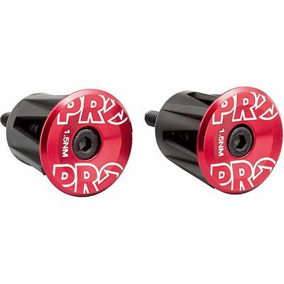 PRO Handlebar end plug alloy RD | Size = | Colour = Red
