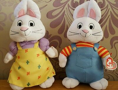 Max and ruby soft toy set