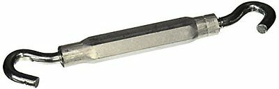 """Stanley National Hardware 2174BC 5/16"""" x 9"""" Zinc Plated Hook/Hook Turnbuckle"""