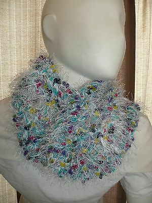 Hand Crocheted Winter Neck Scarf