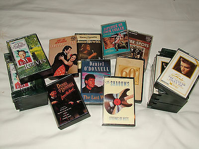 Cassette Tapes Mixed Lot Elvis Jim Reeeves Daniel ODonnell