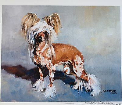 Chinese Crested Dog Sale Of Unmounted Prints