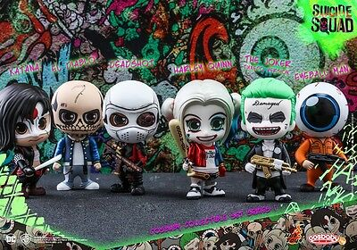 Suicide Squad ~ Collection set #1 ~ Cosbaby Figure by Hot Toys ~ B321