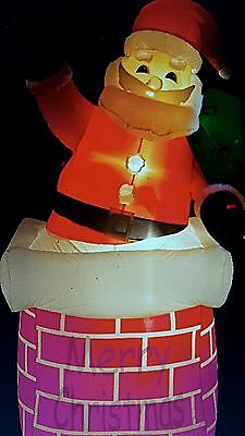 large inflatable outdoor santa