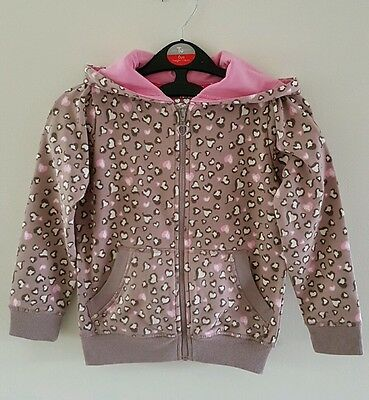 Gorgeous BHS Sweet Millie Girls Cardigan Tracksuit Top Hoodie Size 4 Yrs *Exc*