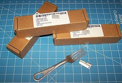 10 NEW Mess Fork Utensil Military USMC Army Stainless for Kit Rations w P38