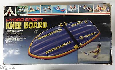American Camper Hydro Sport Knee Board Inflatable  Boat Pull Or Surf New