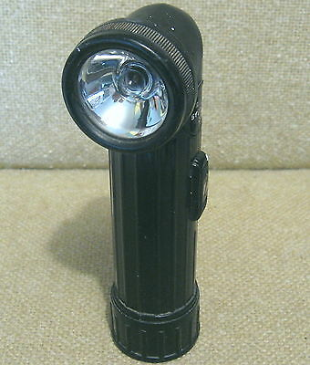 "Vintage ""GITS ... BELL SYSTEM C"" TELEPHONE LINEMAN'S ANGULAR FLASHLIGHT"