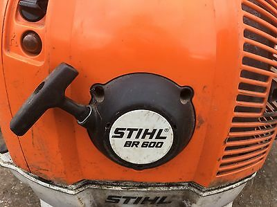 Stihl Backpack Blower Br600 Magnum 2012 Model Very Little Work
