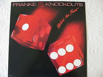 Promo poster Album Cover Shape 1984 Franke & The Knockouts / Makin' the Point LP