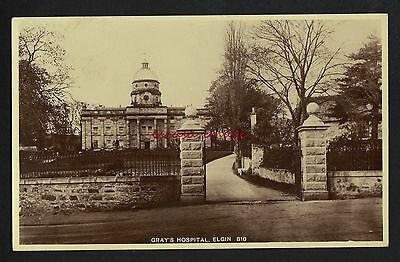 ELGIN HOSPITAL postcard
