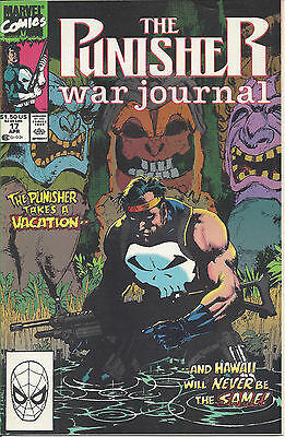 The Punisher War Journal #17 (April 90) - the Punisher wages war in Hawaii
