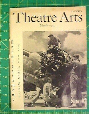 Theatre  ARTS, March 1943,, Soldier Theatricals, , Irving Berlin, Army War Show