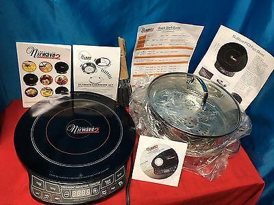 NuWave Precision Induction Portable Cooktop 2 Kitchen / Ultimate Cookware Set