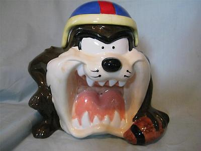 Warner Brothers Football player Taz-Tasmanian Devil Cookie Jar