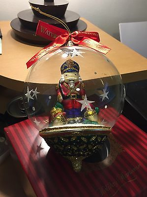 Waterford Nutcracker Snowglobe Ornament Limited Edition 130829