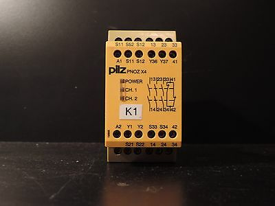 PILZ SAFETY RELAY PNOZ X4 Product number: 774730