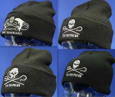 4 different styles of Sea Shepherd Beanie to choose from. £16 each.