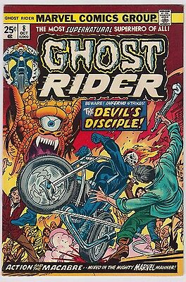 Ghost Rider #8 Marvel Comics Vf Condition