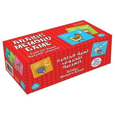 Arabic Memory Game Islamic Muslim Children Play & Learn Cards Best Gift Ideas