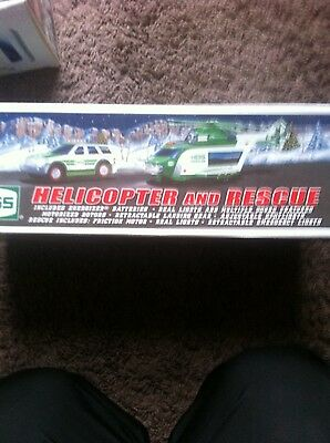 2012 hess helicopter new in the box