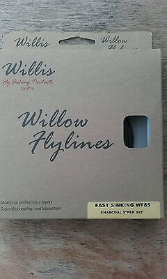 Willis fly line WF8 SINKING  charcoal