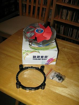 Cooling Baby A16 CPU Cooler for Intel LGA775 / AMD / AM2 / AM3 / 754 / 939 / 940