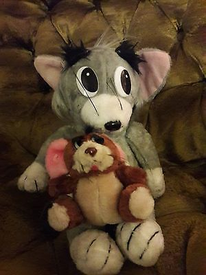 Vintage 1989 Tom and Jerry Plush