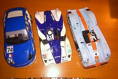 Lot of 3 Scalextric Scx Slot cars