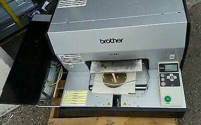 Brother GT-541 Direct to Garment Printer Machine w/ extras & low num of prints!